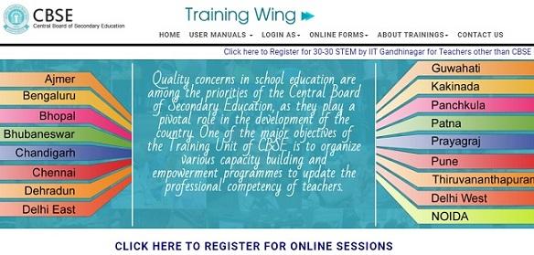 [cbseit.in] CBSE Training Portal Registration 2021 - Login, Certificate Download, Fee Payment