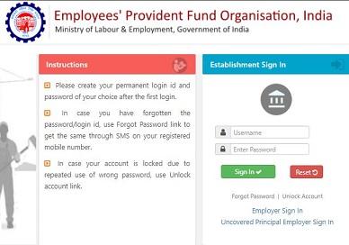 [epfindia.gov.in] EPFO Unified Portal 2021 - Member Login, Passbook, Employees KYC Update