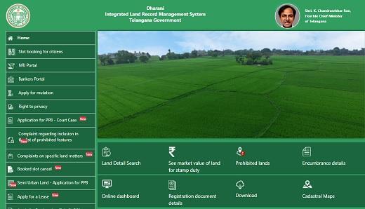[dharani.telangana.gov.in] Dharani Portal - Online Registration, App Download, Land Details Search, Department Login