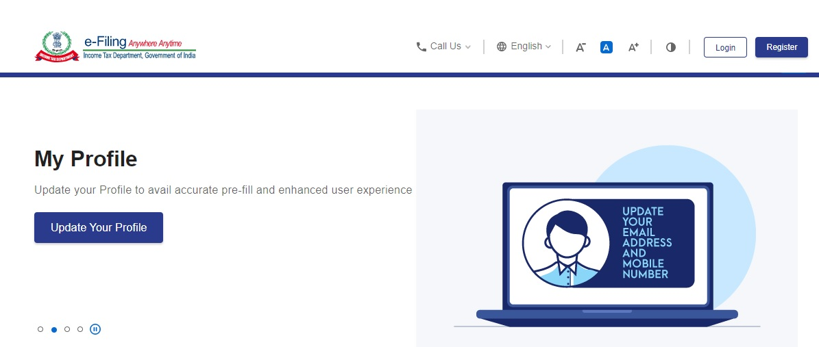 Income Tax e Filling Login - Pan Card Status, Refund, Tax Return at New Portal income tax.gov.in. Check Income Tax New Portal Official Website on this page.