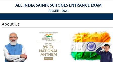 Sainik School Admission 2022 - Apply Online Application Form, Entrance Exam, Eligibility Criteria