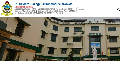St. Xaviers College Kolkata Merit List 2021 - UG-PG Admission, Application Form, Cut Off, Contact Number, Placement