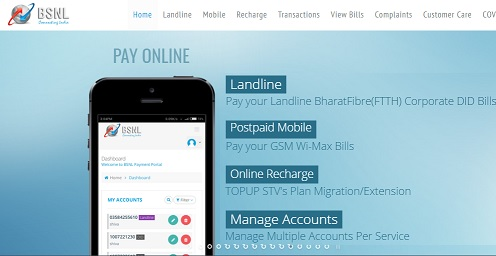 BSNL Payment Portal Login 2021 - Recharge, Landline Bill Payment, View Bill, Broadband Services