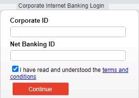 Bandhan Bank Corporate Net Banking Login