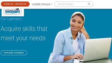 Swayam Registration Portal Login - Online Courses List, Register, Eligibility Criteria at swayam.gov.in